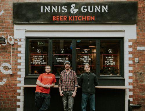 Alex's Innis & Gunn Christmas Brew!